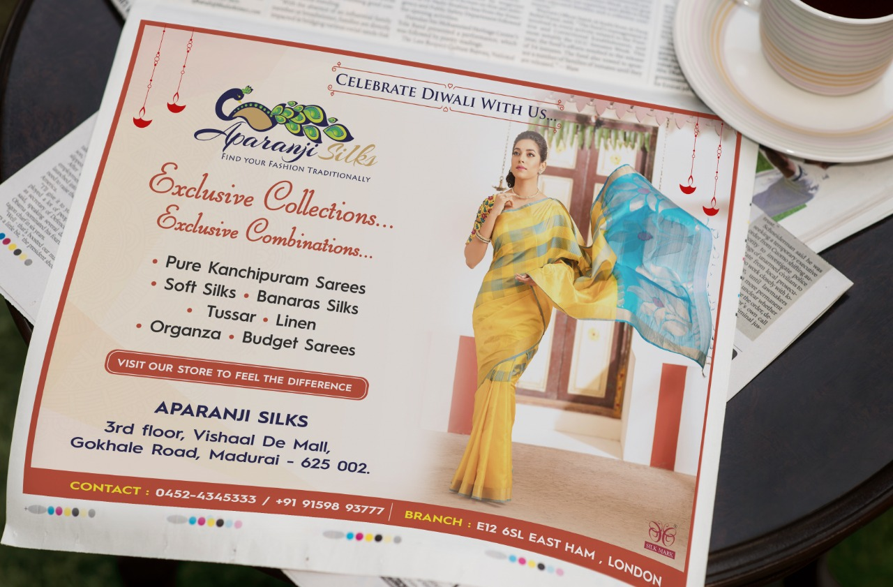Newspaper ad design chennai