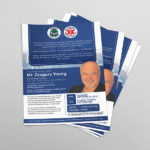 corporate flyer & Brochure Designs From God Particles Chennai